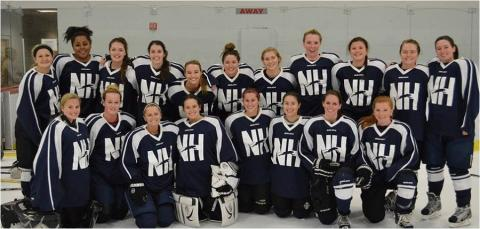 UNH womens ice hockey club team