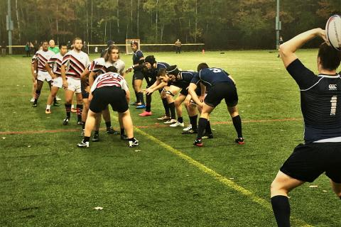 UNH men's rugby team